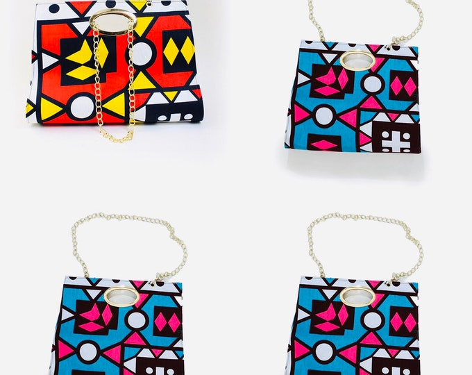 Ankara Evening Clutch