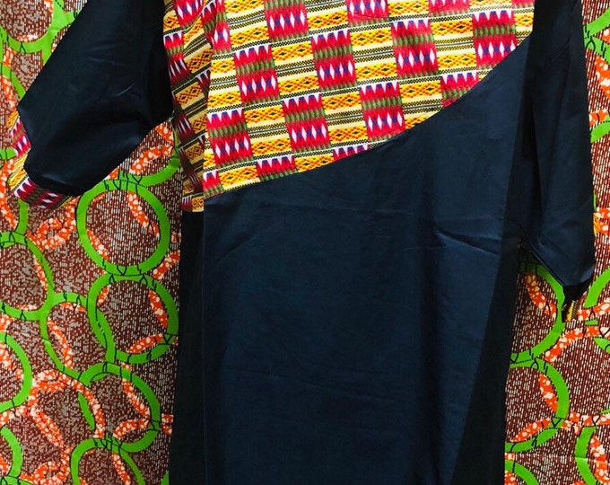 Kente Trim Shirt