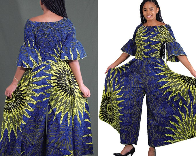 Eye Of The Sun Off the Shoulder Jumpsuit