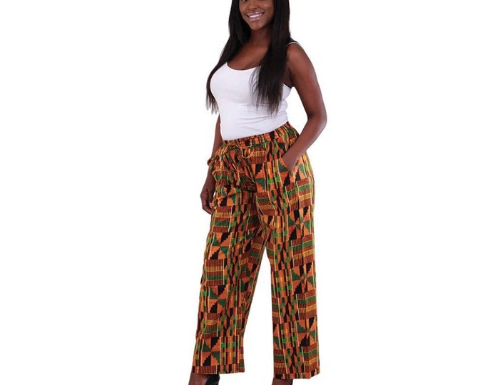 Kente Straight Pants