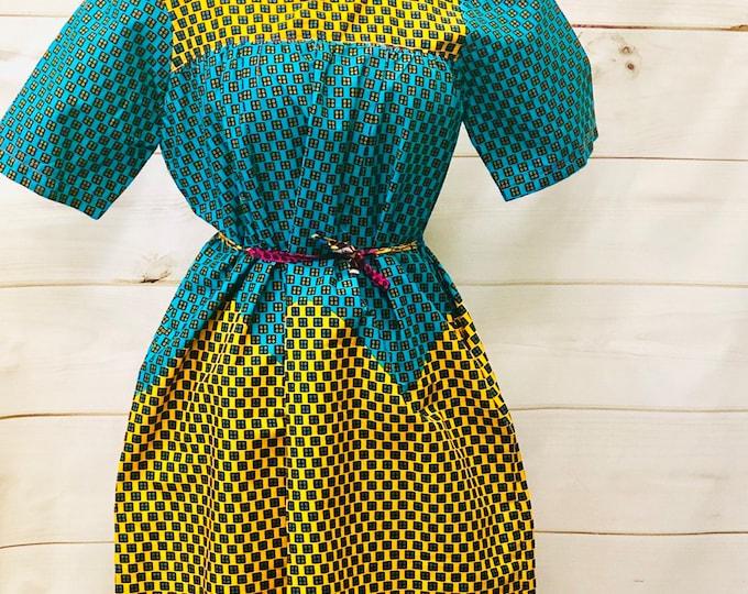 Ankara Baby Doll Dress