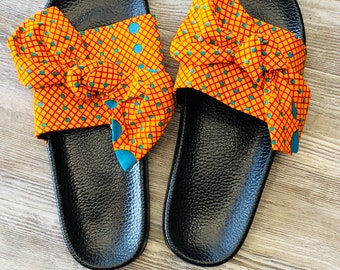 Ankara Slippers