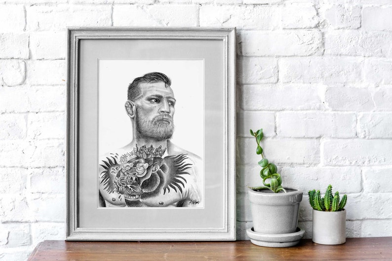 CONOR MCGREGOR UFC 205 QUOTE MMA Art Print Photo Poster A3 A4