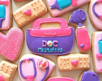 Doc McStuffins Sugar Cookies (1 Dozen)