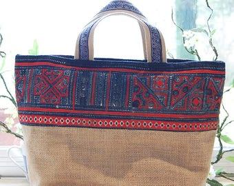 Ethnic style beach bag