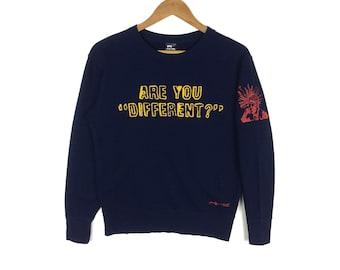ba2028faf Andy Warhol Crewneck Sweatshirt Pop Art Spellout Pullover Jumper