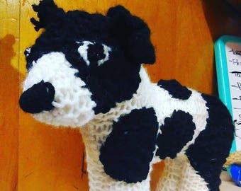 Custom Knitted Dog