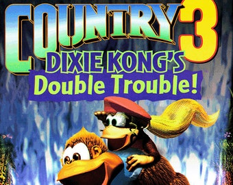 Nintendo Power Donkey Kong Country 3  Dixie Kong s Double Trouble 5d7a80c75a8
