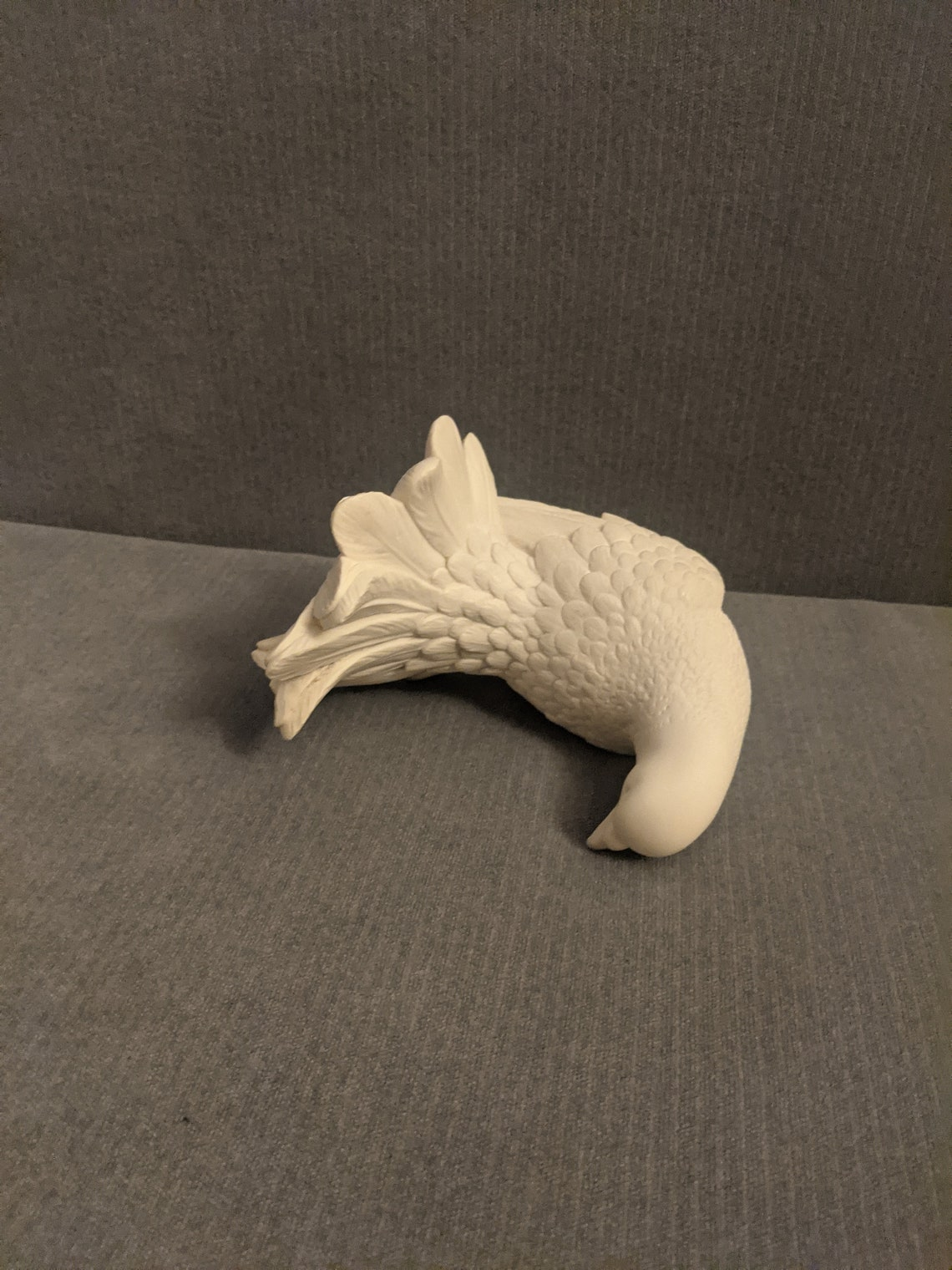 Hard to get rare Vintage A. Santini marble-dust sculpture