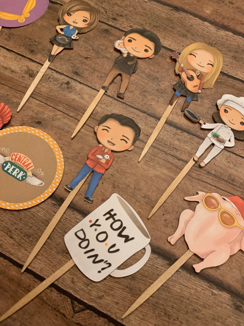 Friends Cupcake Toppers