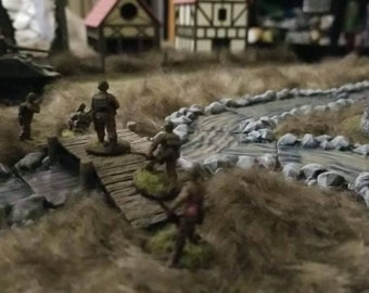 B9 STONE WALLS 28mm For wargame scerney and terrains 40k WW2