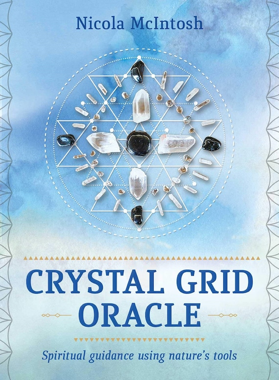 Crystal Grid Oracle: Spritual Guidance Using Nature's Tools ( Rockpool Oracle Card )