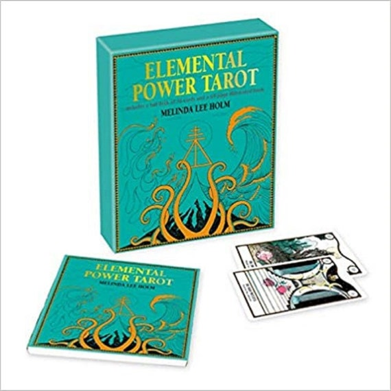 Elemental Power Tarot: Includes a Full Deck of 78 Cards and a 64-Page Illustrated Book [With Book(s)]