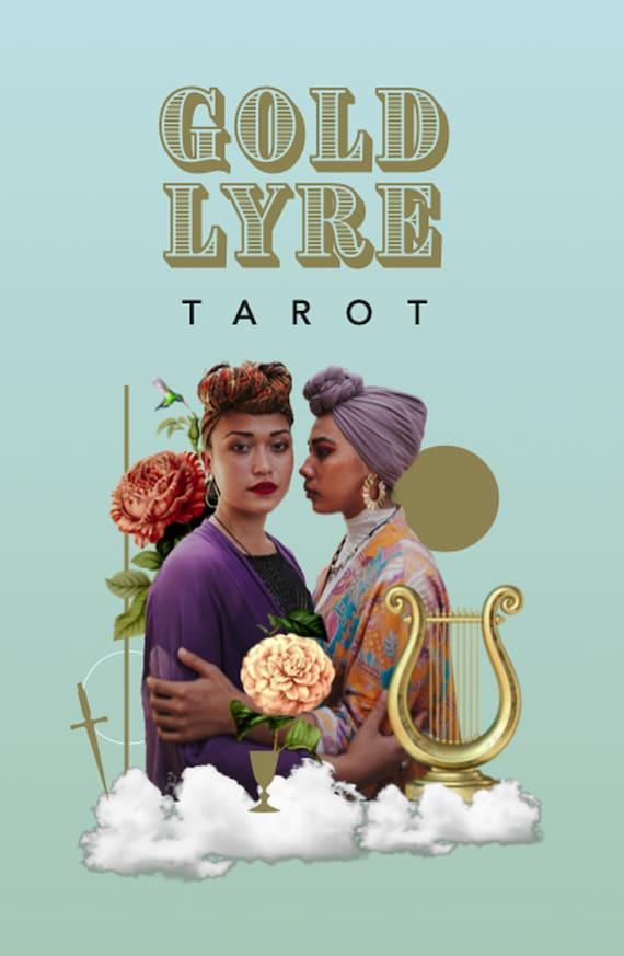 Gold Lyre Tarot ( Gift )