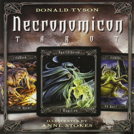 Necronomicon Tarot [With BookWith Tarot CardsWith Black Organdy Bag] ( Necronomicon #3 )