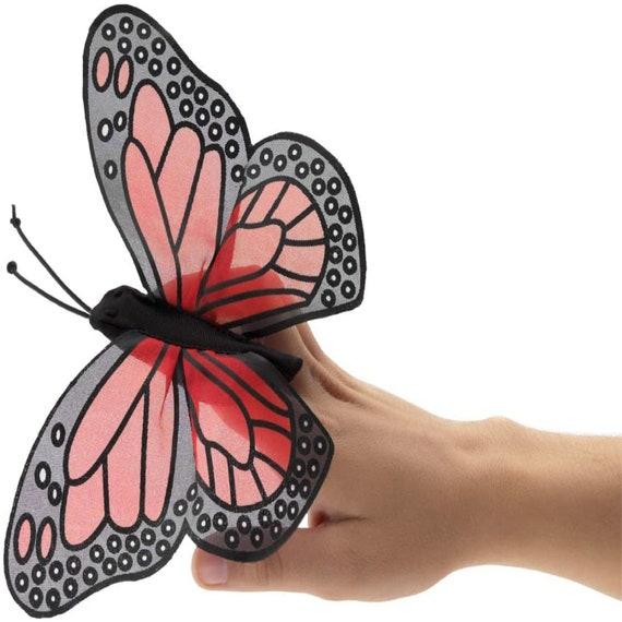 Mini Monarch Butterfly Finger