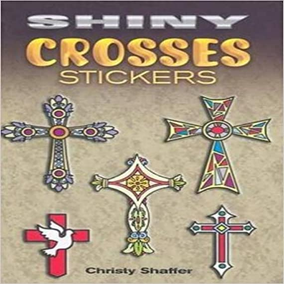 Shiny Crosses Stickers (Dover Little Activity Books Stickers)