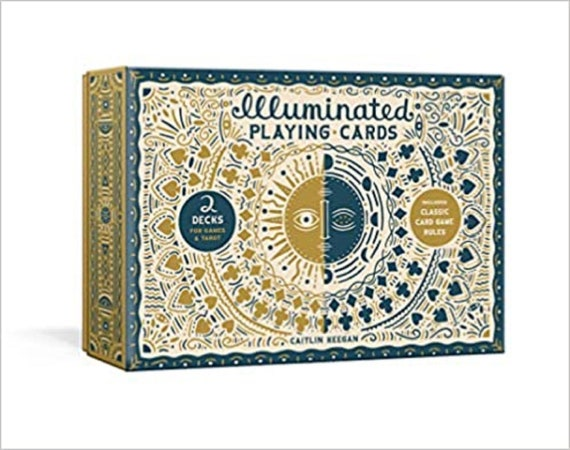 Illuminated Playing Cards: Two Decks for Games and Tarot ( Illuminated Art )