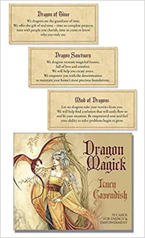 Dragon Magick Affirmation Deck: Strength and Wisdom from the Realm of Dragons