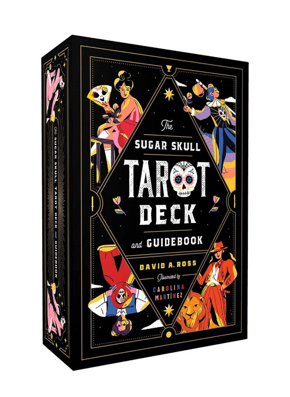The Sugar Skull Tarot Deck and Guidebook [With Guide Book] ( Sugar Skull Tarot )
