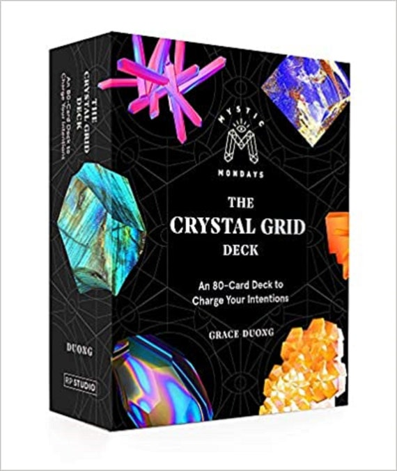 Mystic Mondays, The Crystal Grid Deck: An 80-Card Deck to Charge Your Intentions