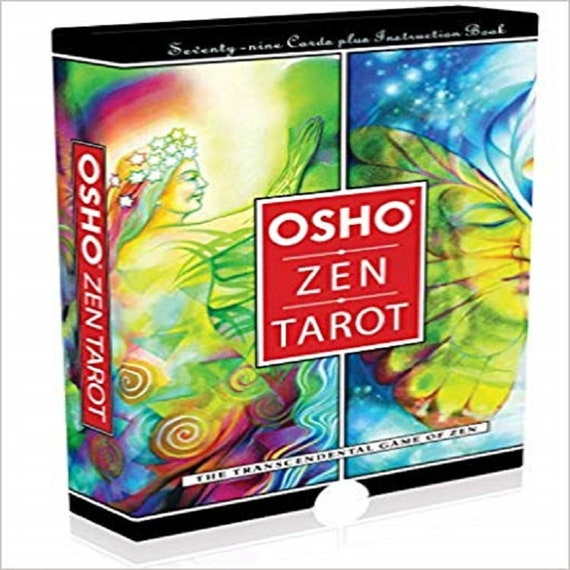Osho Zen Tarot: The Transcendental Game Of Zen (79-Card Deck and 192-Page Book)