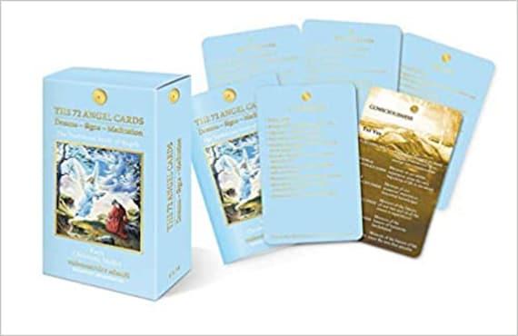 72 Angel Cards: Dreams, Signs, Meditation (No Guidebook)