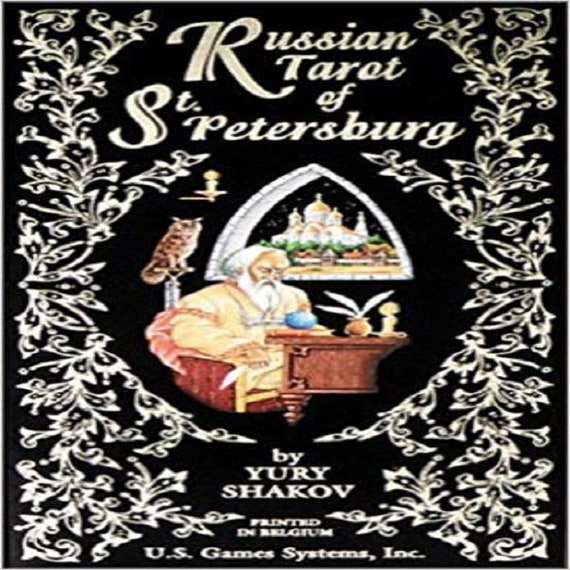 Russian Tarot of St. Petersburg: 78-Card Deck Cards