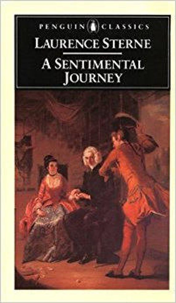 A Sentimental Journey Through France and Italy ( English Library )