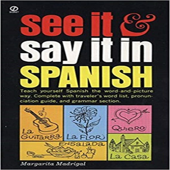 See It and Say It in Spanish ( Reading Railroad Books )