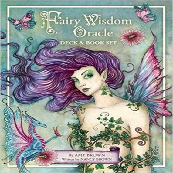 Fairy Wisdom Oracle Deck and Book Set