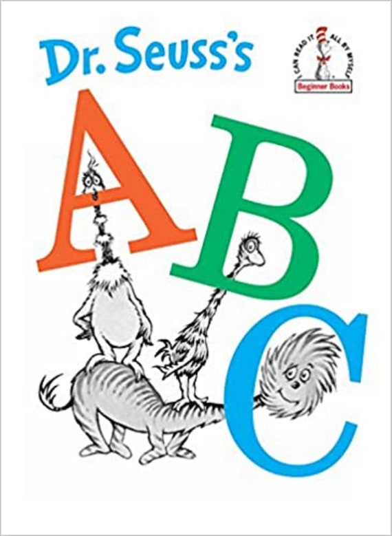 Dr. Seuss's ABC ( I Can Read It All by Myself Beginner Books (Hardcover) )