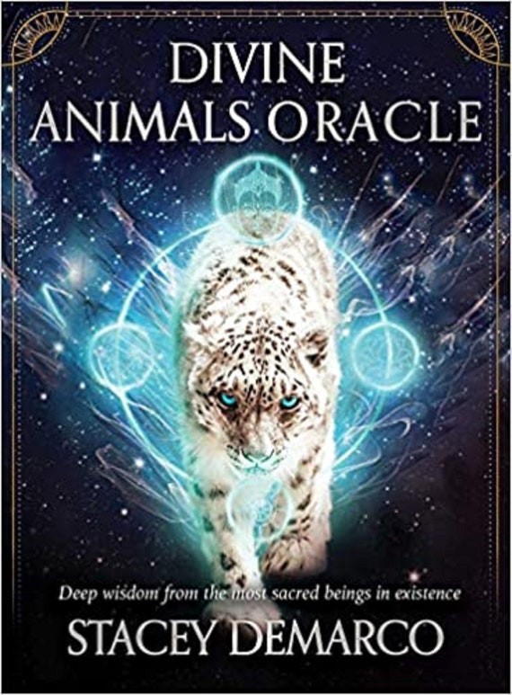 Divine Animals Oracle: Deep Wisdom from the Most Sacred Beings in Existence ( Rockpool Oracle Card )