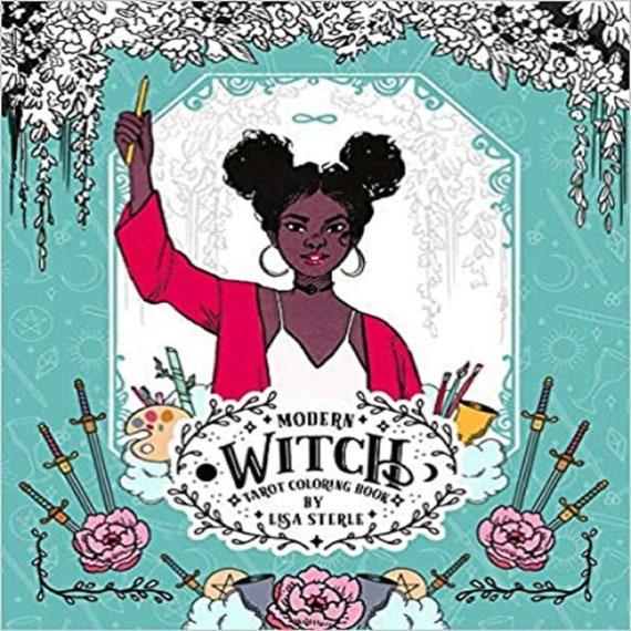 Modern Witch Tarot Coloring Book ( Modern Tarot Library )