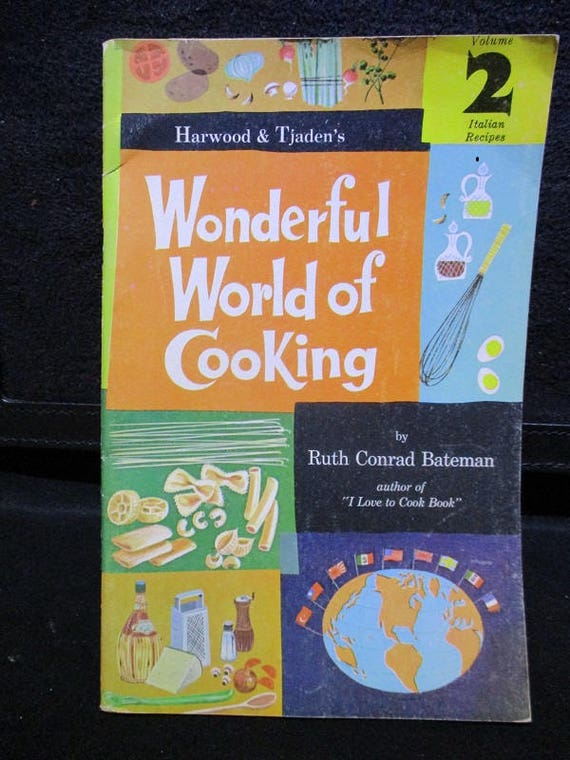 "Hardwood & Tjaden's ""Wonderful World of Cooking"" by Ruth Conrad Bateman"