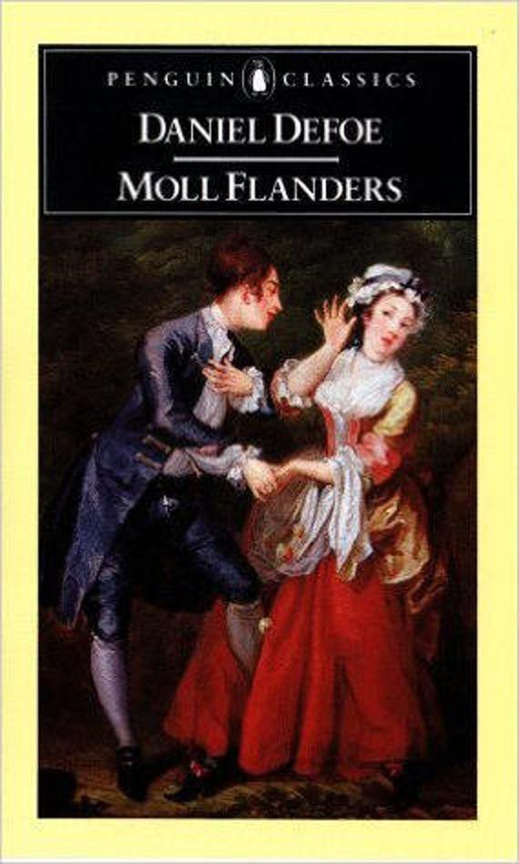 Moll Flanders: The Fortunes and Misfortunes of the Famous Moll Flanders (English Library)