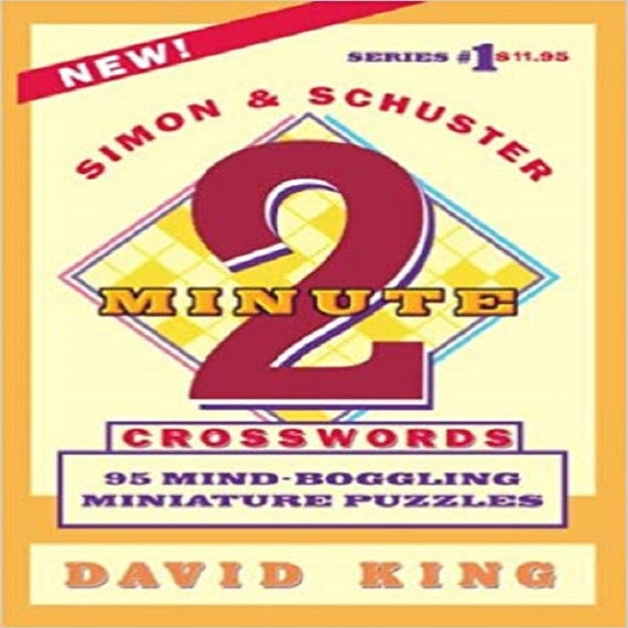 Simon and Schuster's TWO-MINUTE CROSSWORDS Vol. 1 (Series 1)