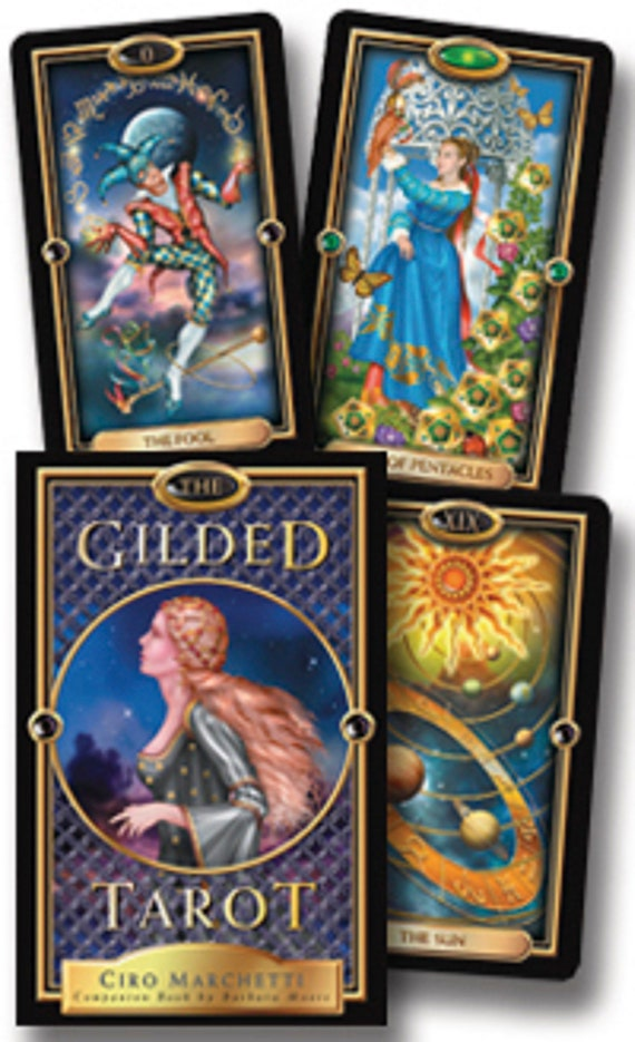 The Gilded Tarot [With 78-Card Tarot Deck]