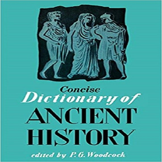 Concise Dictionary of Ancient History