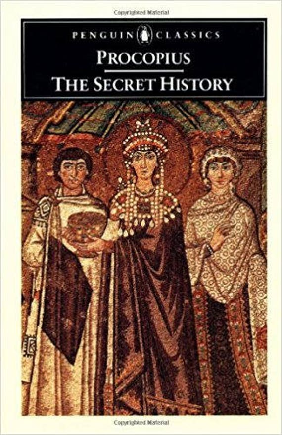 Procopius: The Secret History (Penguin Classics)