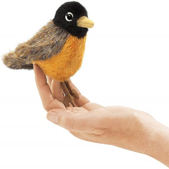 Robin Mini Finger Puppet