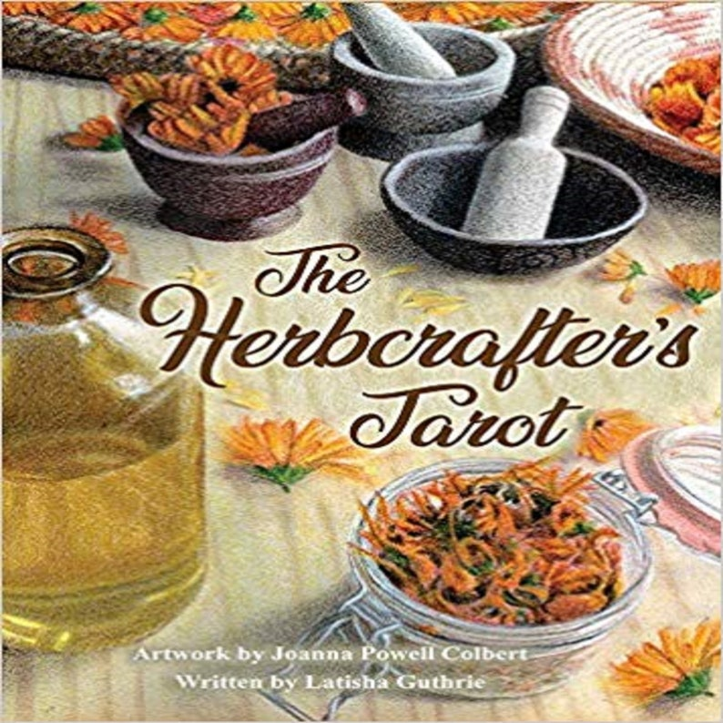 The Herbcrafter's Tarot image 1