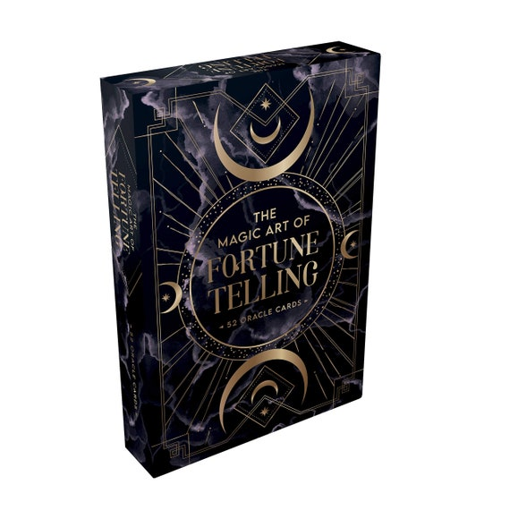 The Magic Art of Fortune Telling: 52 Oracle Cards