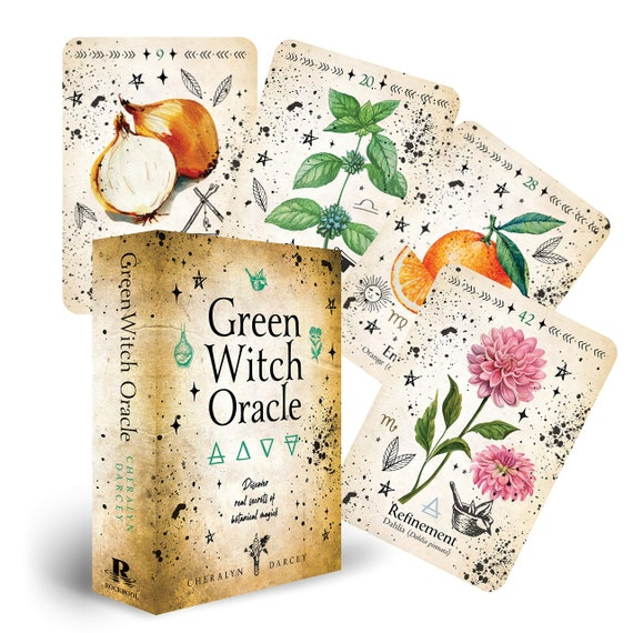 Green Witch Oracle Cards: Discover Real Secrets of Natural Magick