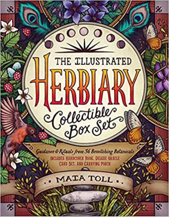 The Illustrated Herbiary Collectible Box Set: Guidance and Rituals from 36 Bewitching Botanicals