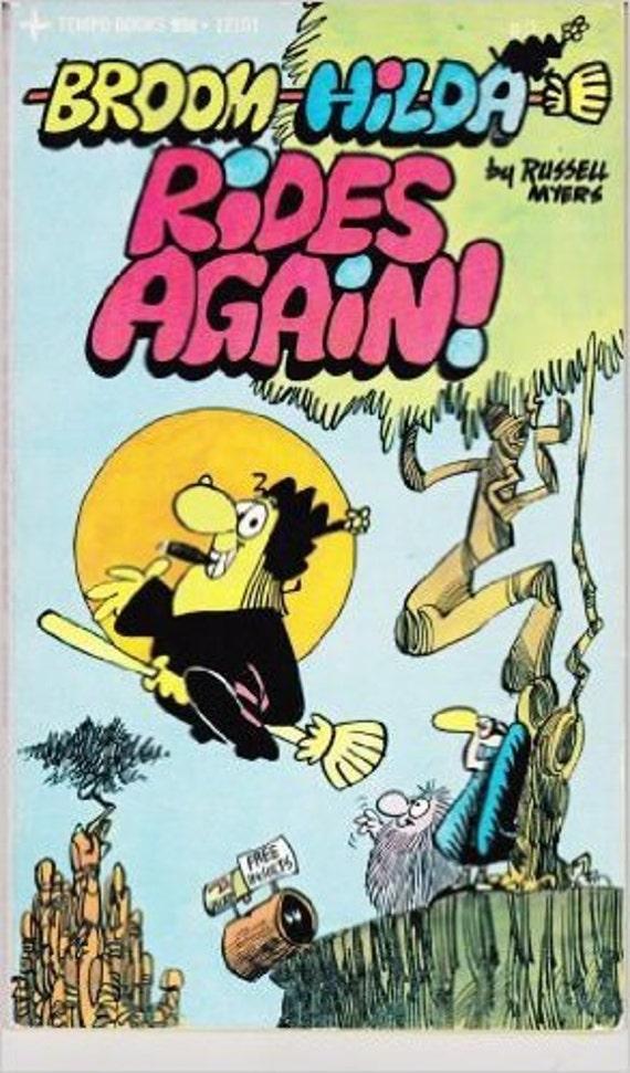 Broom Hilda Rides Again!