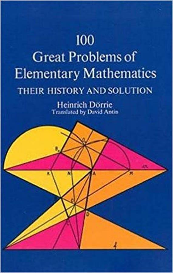 100 Great Problems of Elementary Mathematics