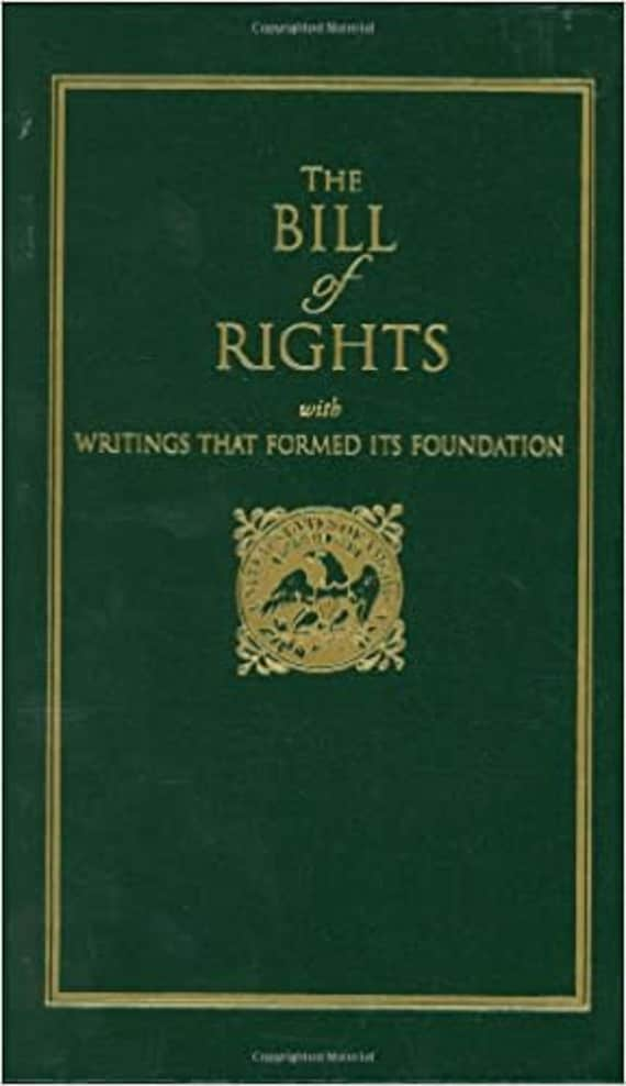 Bill of Rights: With Writings That Formed Its Foundation (Or All Americans Who Cherishes) ( Little Books of Wisdom )