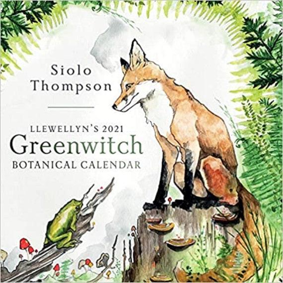 Llewellyn's 2021 Greenwitch Botanical Calendar