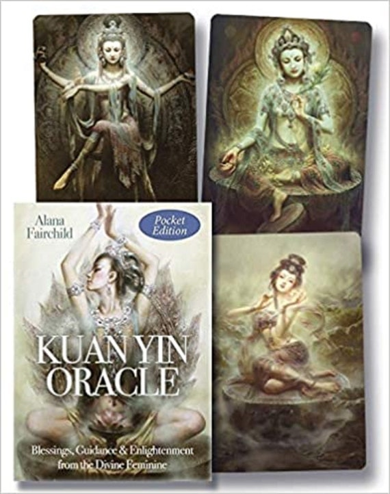 Kuan Yin Oracle (Pocket Edition): Kuan Yin. Radiant with Divine Compassion.